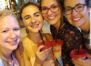 First night out in Jerusalem!